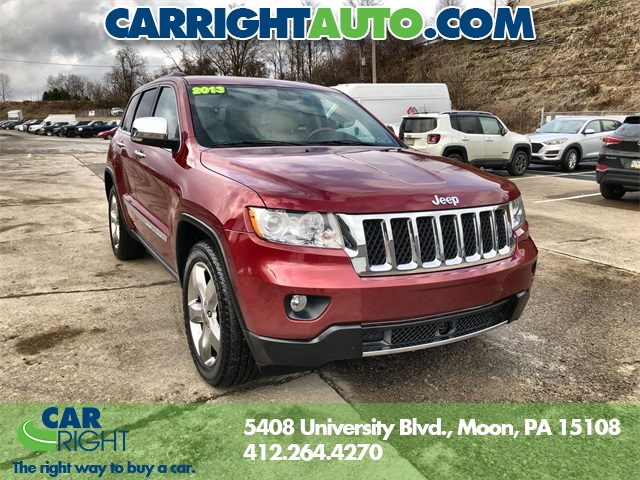 2013 Jeep Grand Cherokee Overland >> Pre Owned 2013 Jeep Grand Cherokee Overland With Navigation 4wd