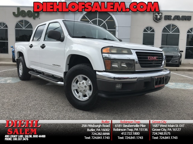 Pre-Owned 2005 GMC Canyon SLE